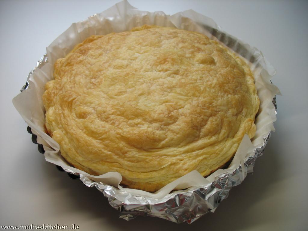 So kommt die Tarte Tatin Surprise aus dem Ofen