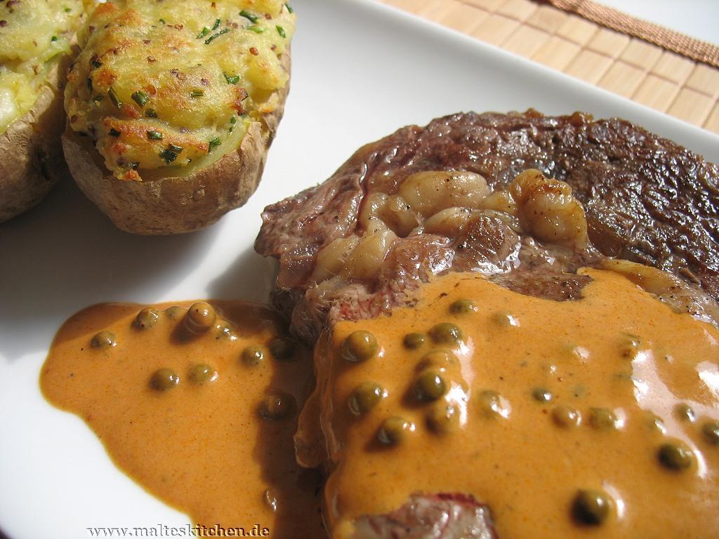 Pfeffersauce passend zum Steak