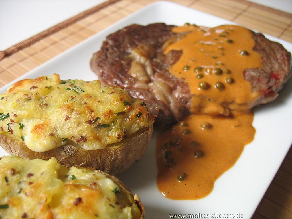 Scamorza-Kartoffeln - im Ofen gratiniert