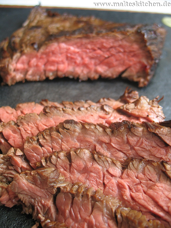 Ein tolles Stück Rindfleisch, das Flankensteak.