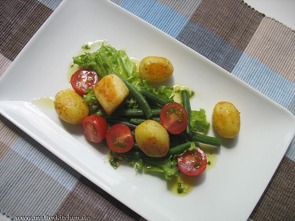 Optisch ist der Salat ein echter Knaller!