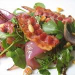 Warmer Rucola Salat