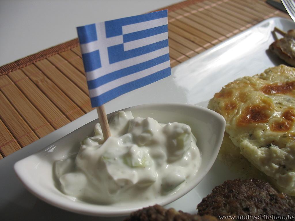 Zaziki gehört einfach zu einem griechischen Essen dazu.