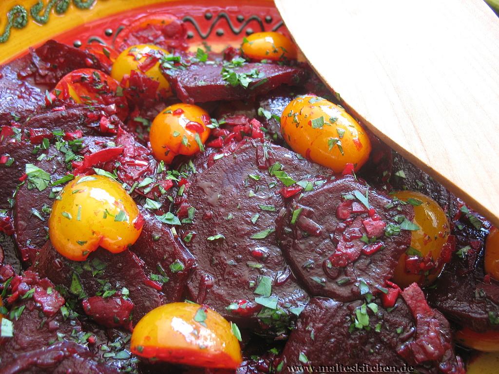 Ich stehe drauf - Rote Bete-Tomaten-Salat