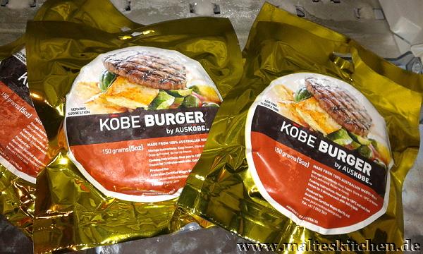 Kobe Burger Patties vom Australischen Wagyu Rind