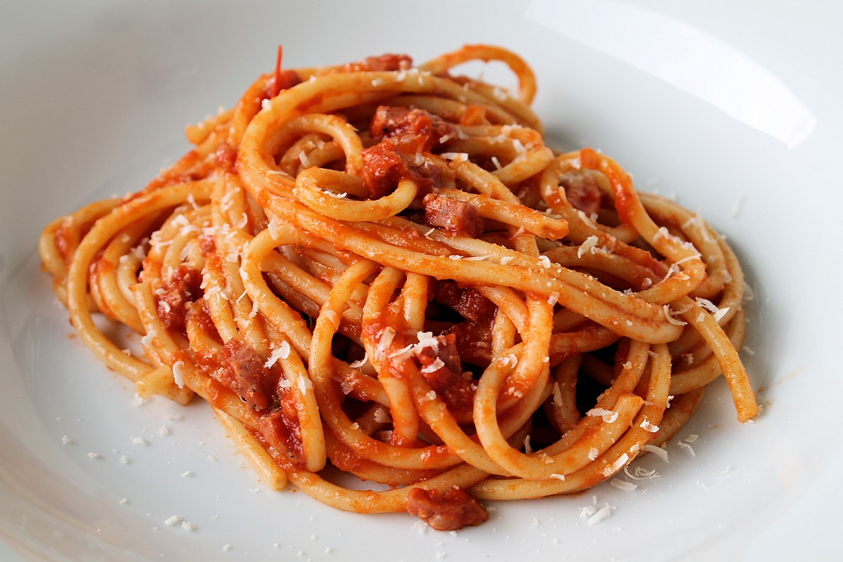 Rezept für Bucatini all' amatriciana
