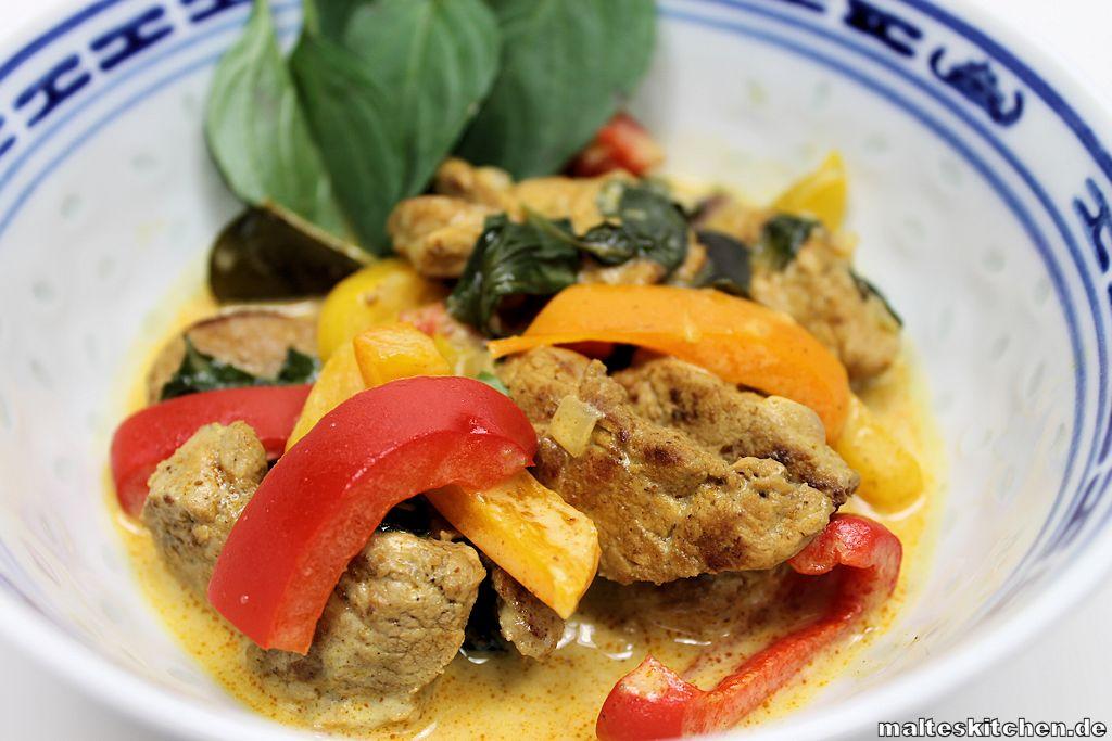 Ein wirkliches leckeres Curry mit Schweinefleisch