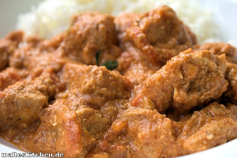 Lecker war es, das Chicken Tikka Masala