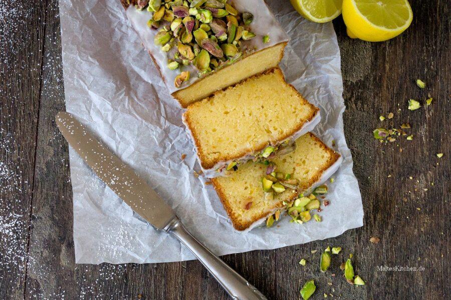 Rezept für einen Zitronen-Mascarpone Kuchen
