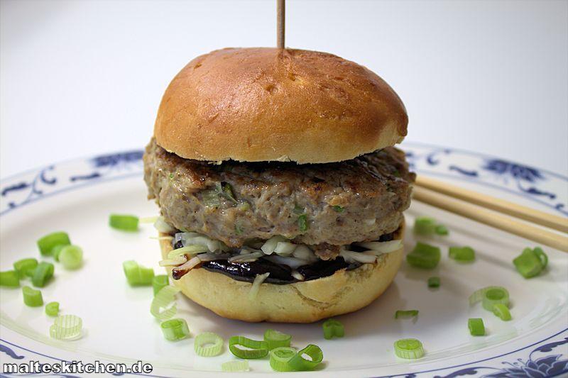 Ein sehr aromatischer Asia Burger