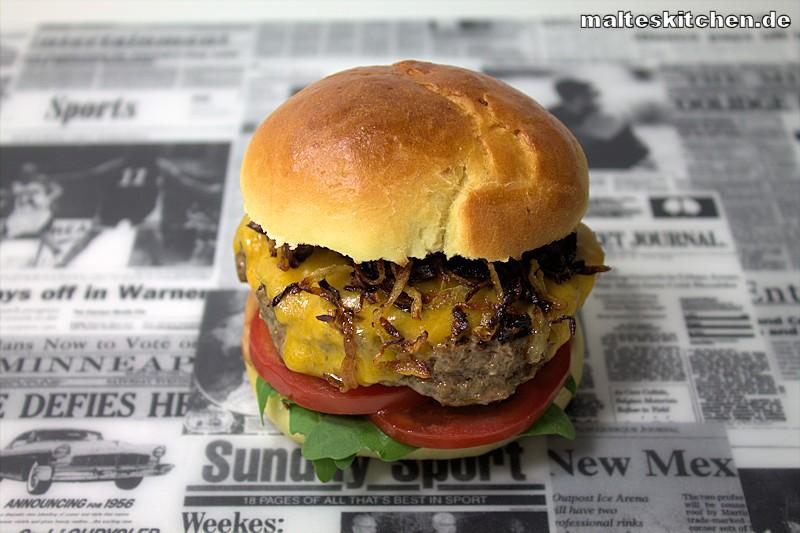 leckerer Cheeseburger selbstgemacht