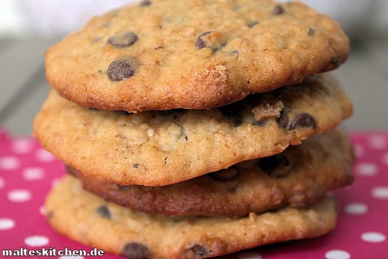 Rezept für Schokoladen-Bananen-Mookies