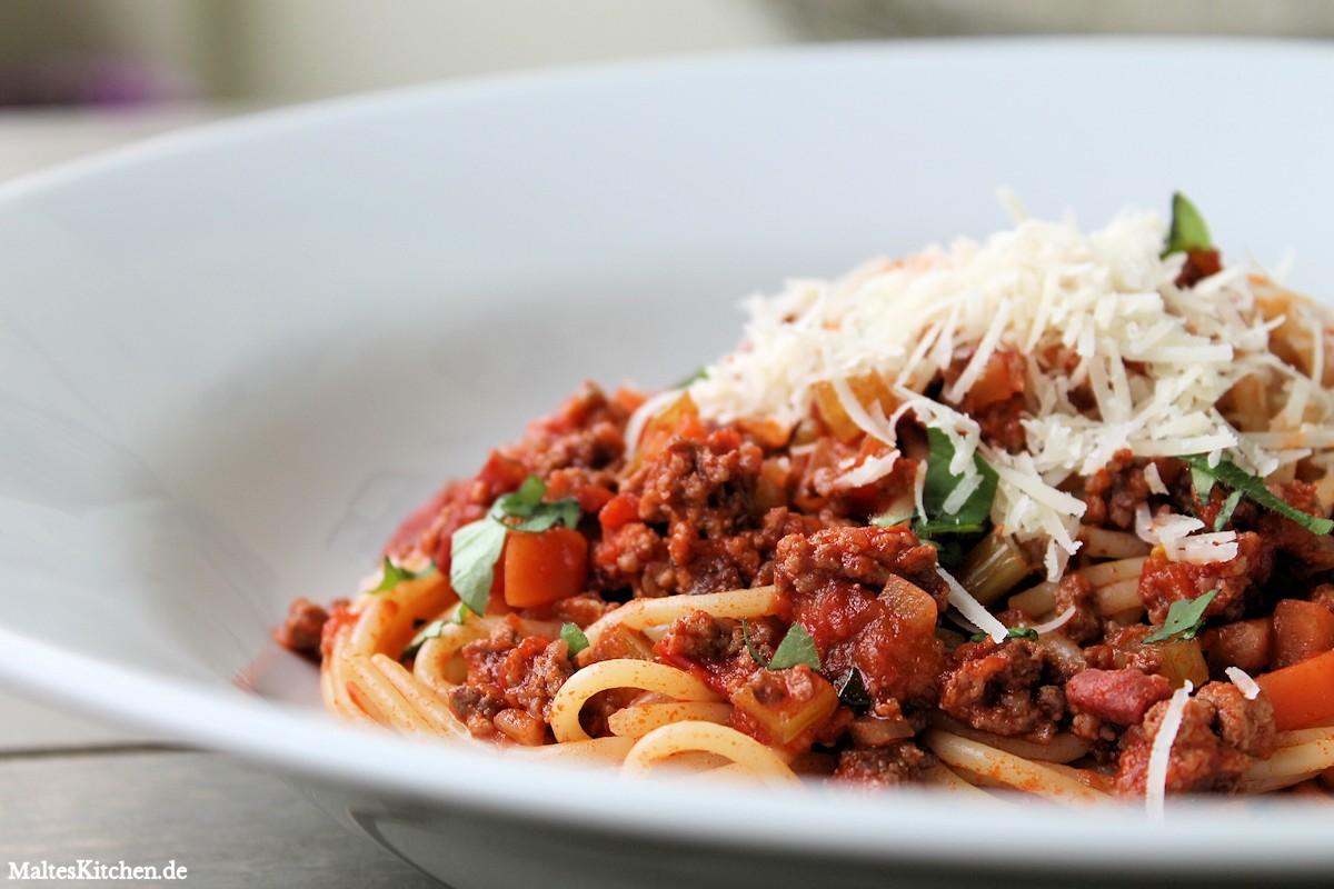 Leckeres Spaghetti Bolognese Rezept