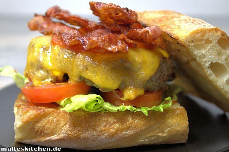 Ein richtig großer Burger!