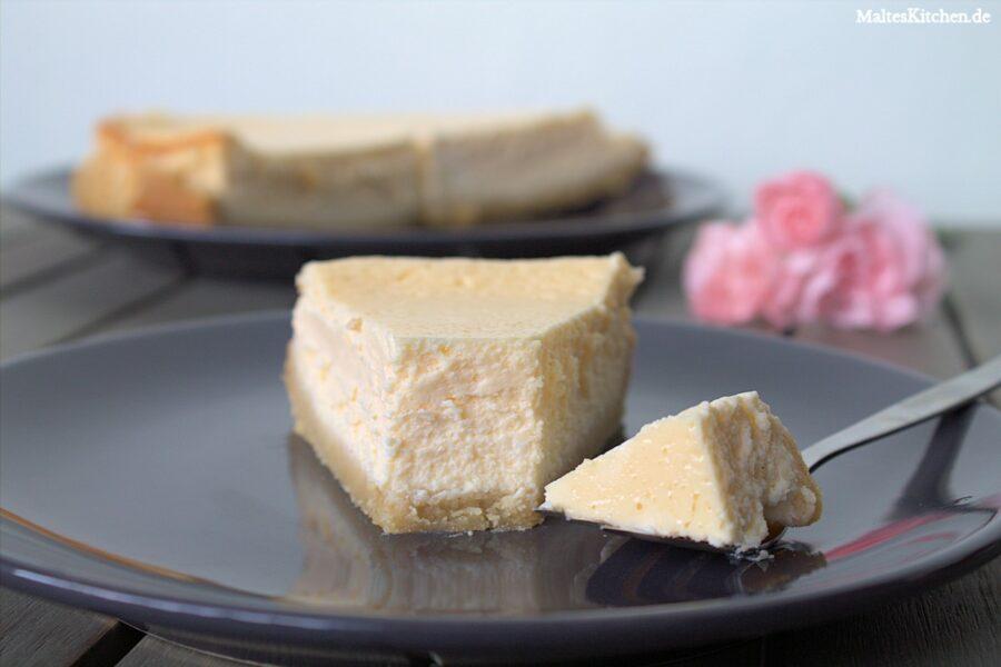 Rezept für einen New York Cheesecake ohne Zucker