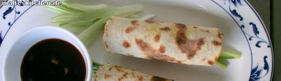 Rezept für Mandarin-Pfannkuchen mit Peking Ente