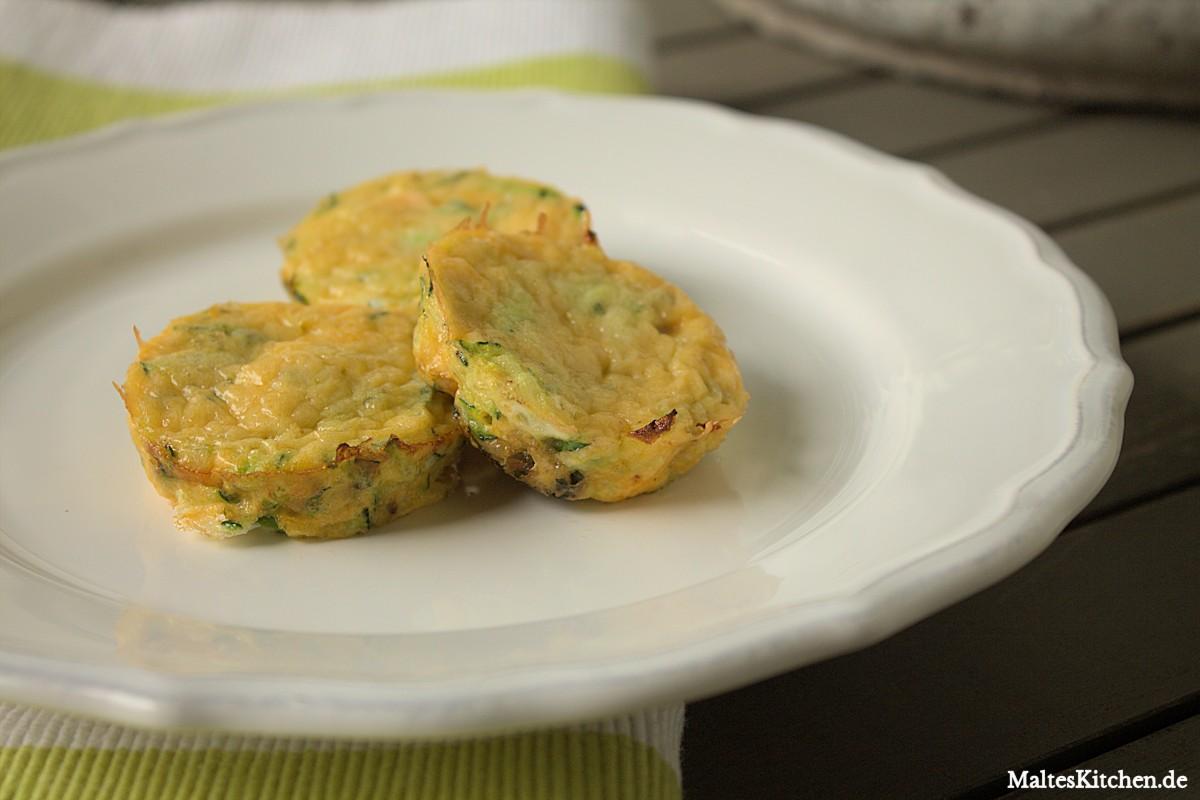 Rezept für Zucchini und Eier zum Frühstück
