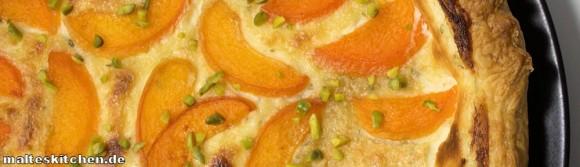 Rezept für eine Aprikosen-Thymian-Tarte