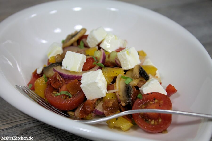 Rezept für einen Bauernsalat nach Frank Rosin