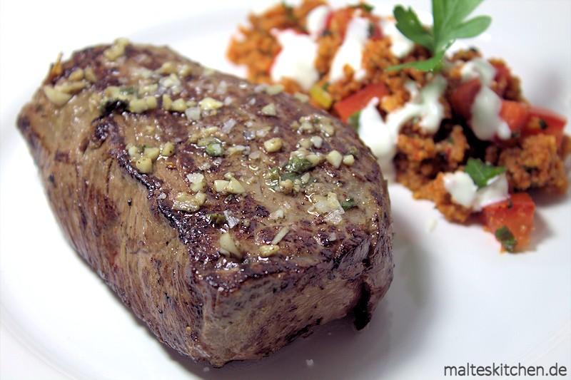 US-Beef perfekt gebraten