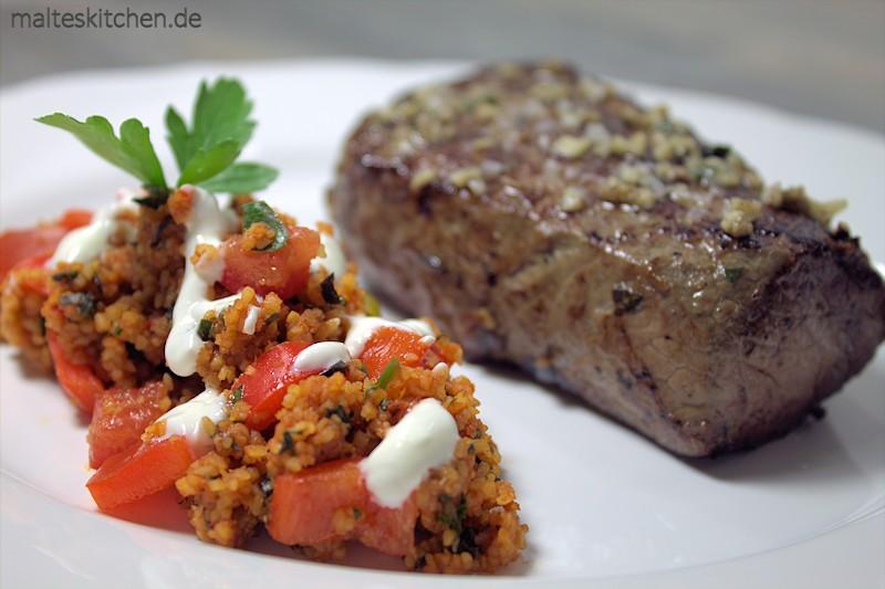 Sehr leckerer Bulgur-Salat