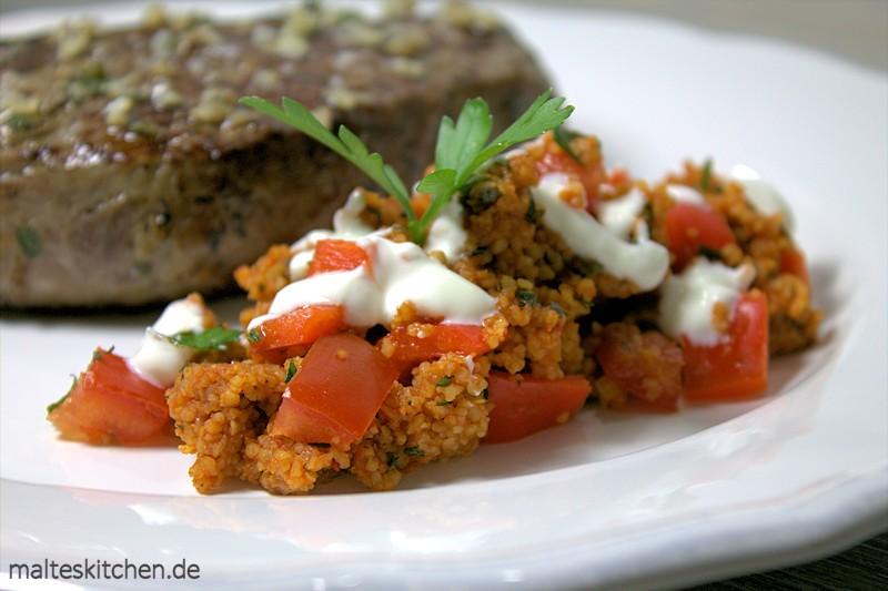 Super aromatischer Bulgur-Salat