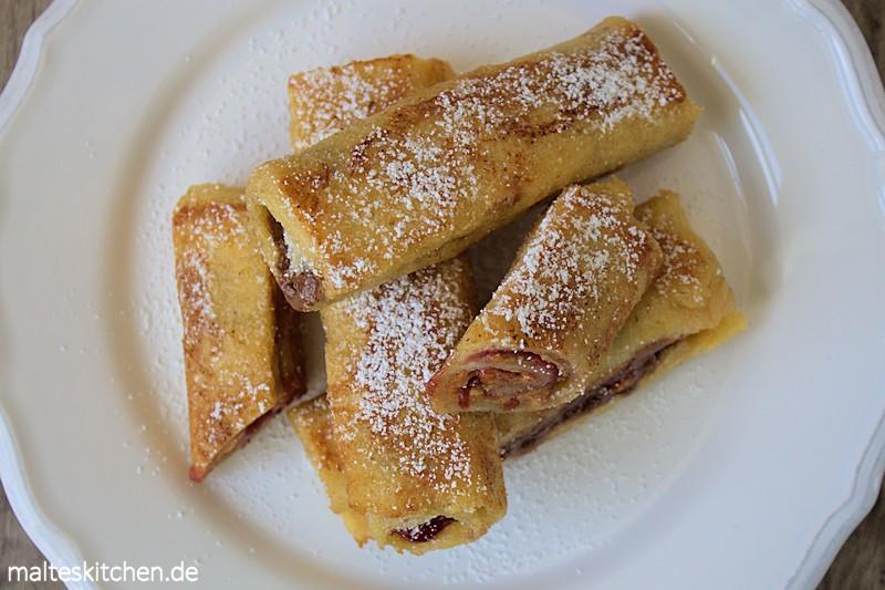 Lecker Zum Frühstück gefüllter French Toast