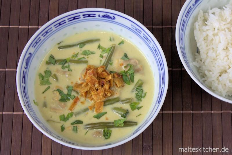 Sehr leckeres Curry mit sehr schönen asiatischen Aromen