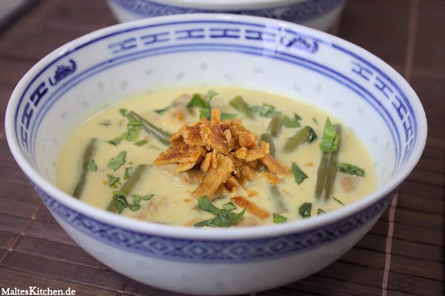 Rezept für ein Grünes Curry