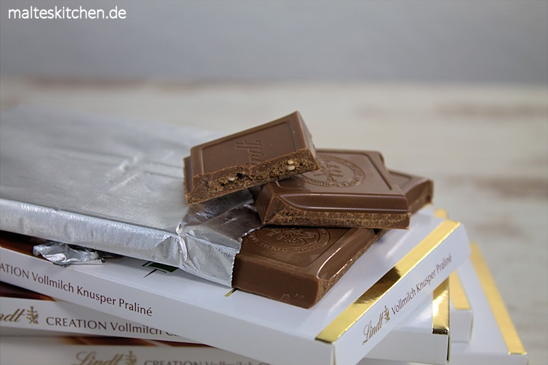 Die Sorte Lindt Creation Haselnuss Vollmilch