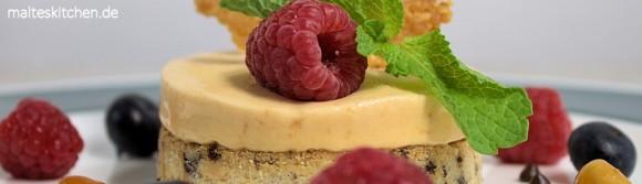 Rezept für ein festliches Dessert - ein Karamallparfait