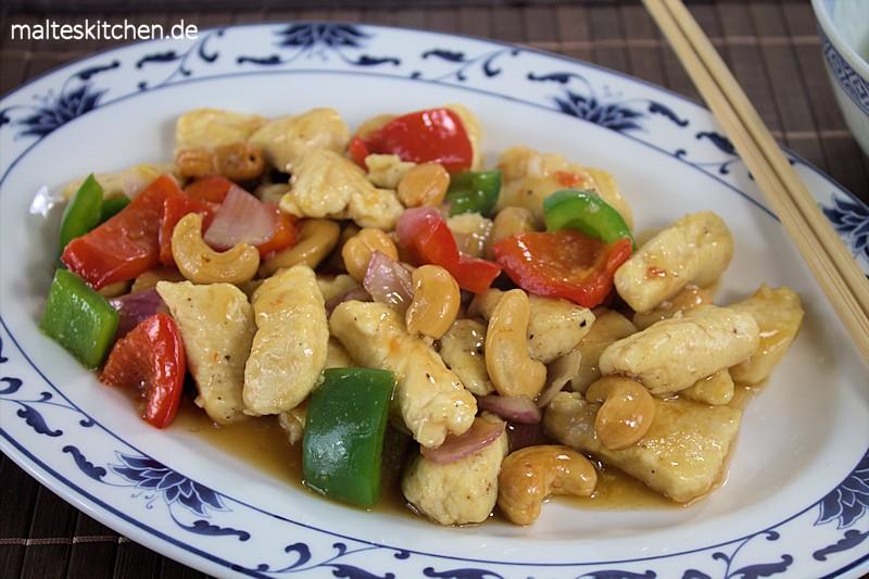 Kung Pao Chicken ein Liebliingsgericht