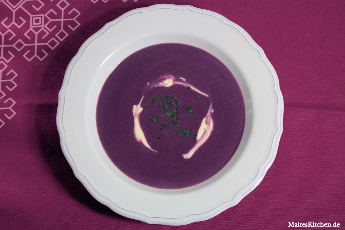 Rezept Rotkohlsuppe nach Steffen Henssler