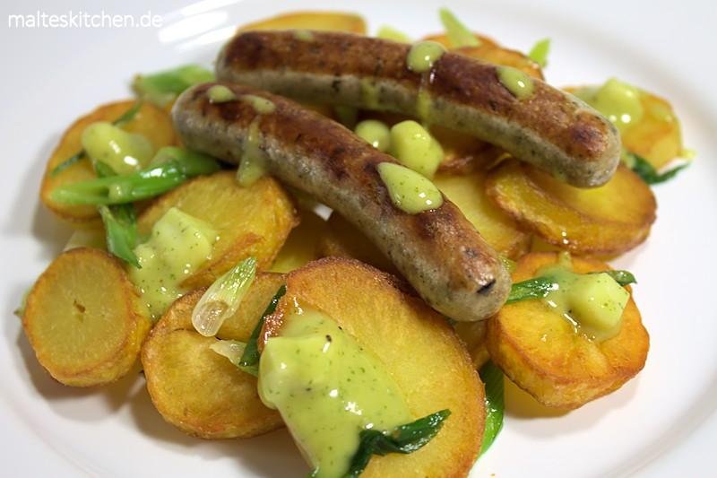 Ein lekcerer Senf der gut zu Kartoffeln passt.