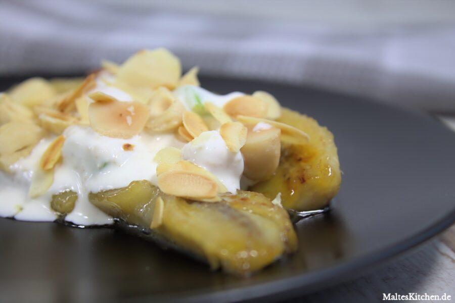 Rezept für ein Bananen-Split-Müsli