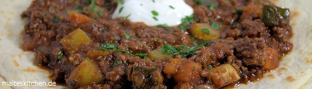 Rezept für Paleo Schoko-Chilli-con-Carne