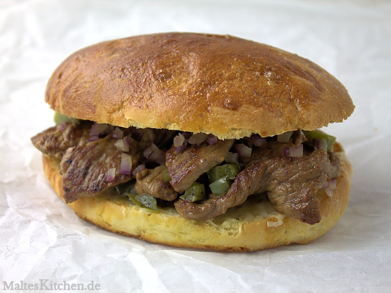 Philadelphia Cheese Steak nach Steven Paul