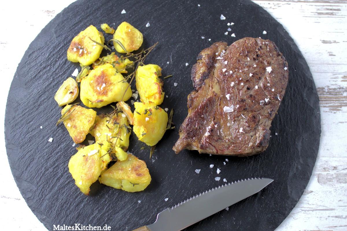 Röstkartoffeln nach Jamie Oliver