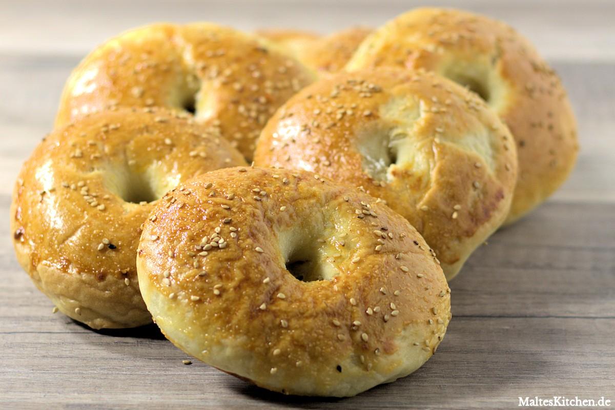 Rezept Bagel, selbstgemachte Bagels nach Stevan Paul