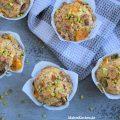 Rezept für Clementinen-Muffins mit Mohn und Pistazien