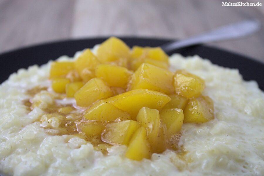 Rezept Kardamom-Milchreis mit Mango