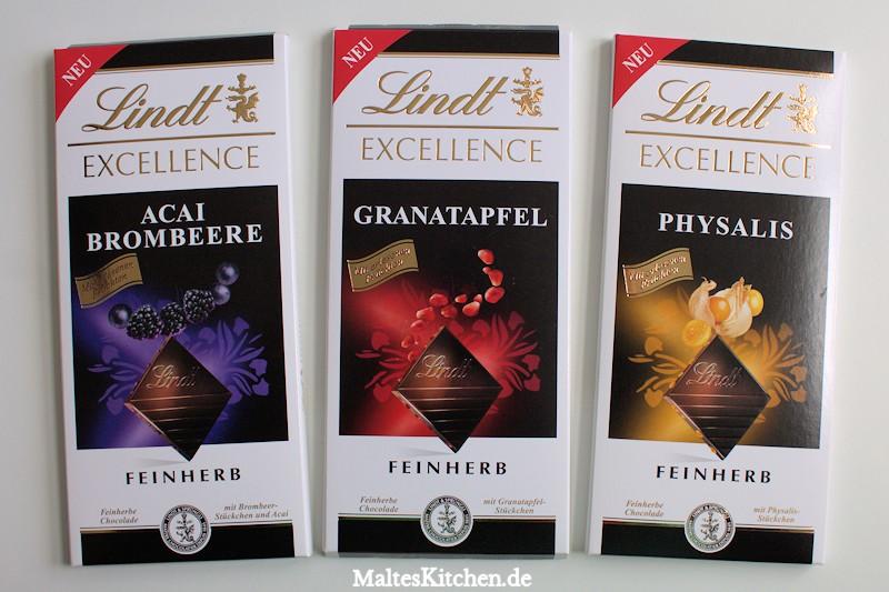 3 neue Tafeln der Lindt Exellence Schokolade bei mir im Geschmackstest