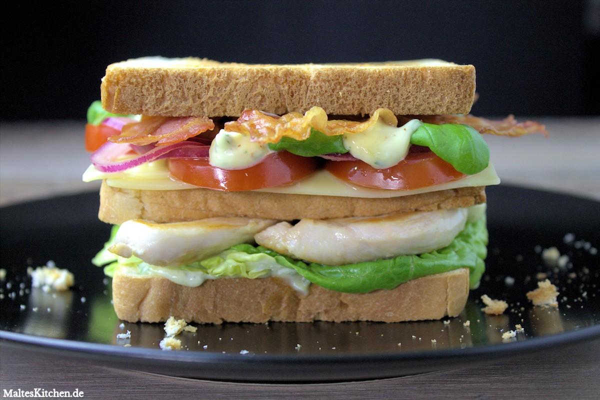 Rezept für ein leckeres Clubsandwich French Style nach Stevan Paul