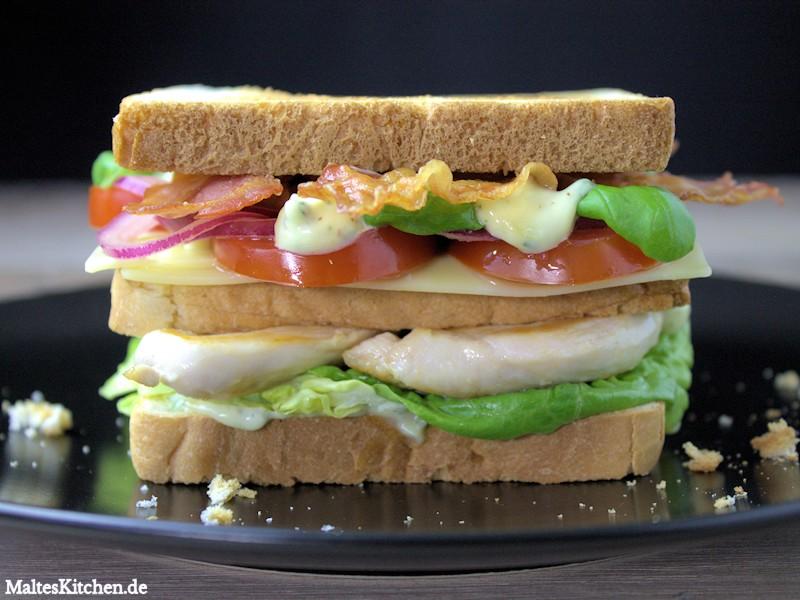 So muss ein leckeres Clubsandwich aussehen!