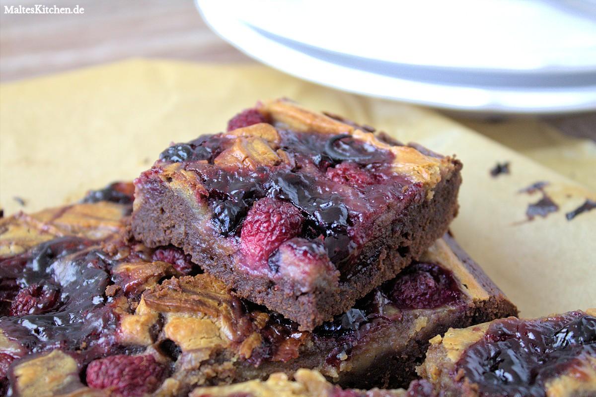 Rezept für Erdnussbutter-Brownies nach Jamie Oliver