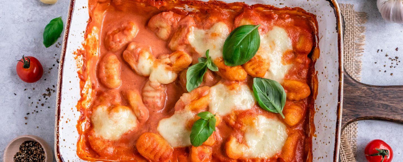 Rezept für Gnocchi mit Tomaten-Mascarpone-Sauce