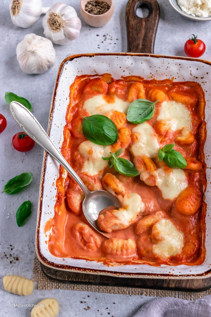 Schnelle Gnocchi aus dem Ofen