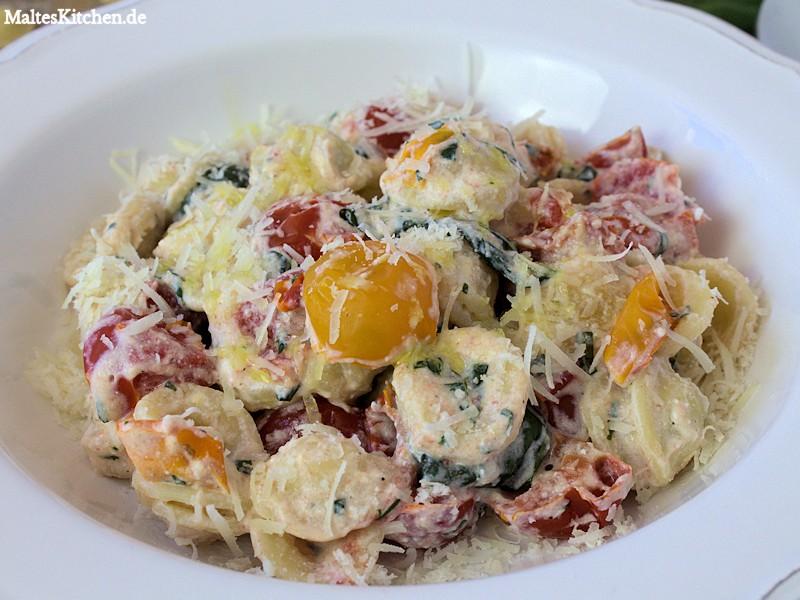 Orechiette mit cremiger Ricotta-Sauce