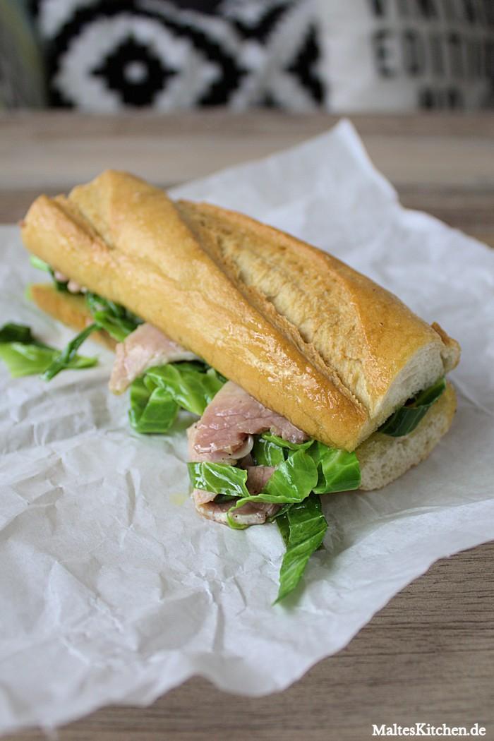 sandwich mit schinken und wei kohl nach nigel slater. Black Bedroom Furniture Sets. Home Design Ideas