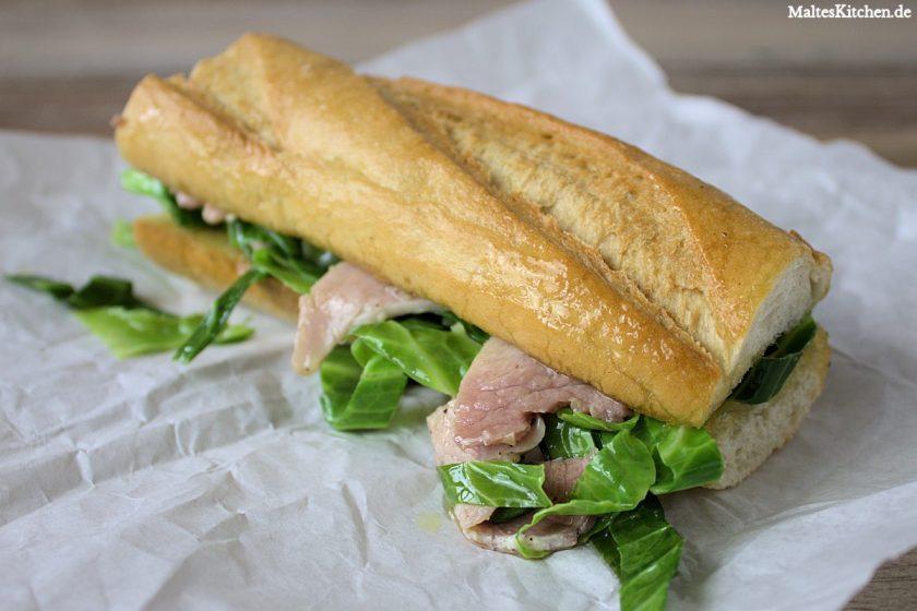 Rezept für ein Schinken-Sandwich nach Nigel Slater